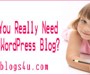 What Do You Really Need to Get a WordPress Blog?